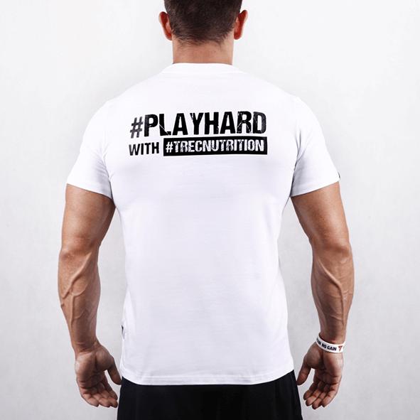TW T-SHIRT – PLAYHARD WHITE – 001 – Trec Nutrition Magyarország – Prémium  minőségű táplálékkiegészítők és sportruházat d805f03a62