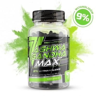 ASHWAGANDHA MAX – 60 KAPSZULA – Trec Nutrition Magyarország – Prémium  minőségű táplálékkiegészítők és sportruházat fd17d1e5a8